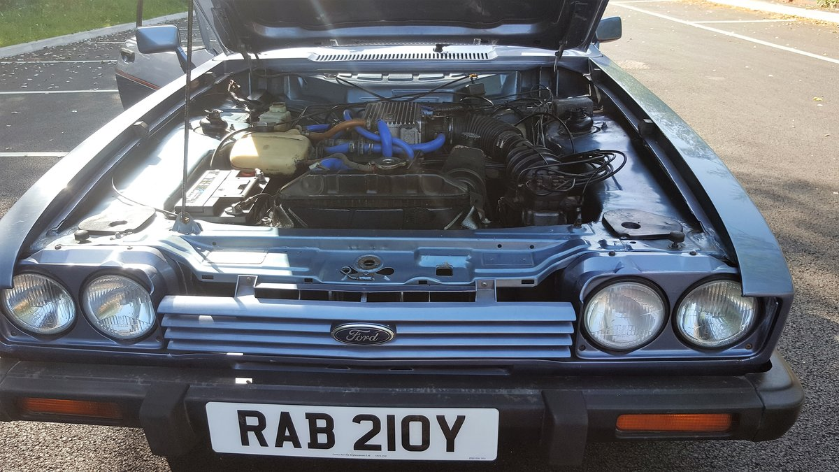 1983 ford capri 2.8 injection For Sale (picture 5 of 6)
