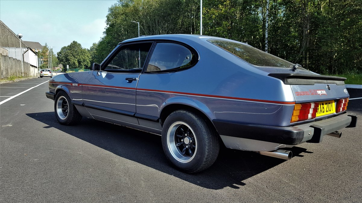 1983 ford capri 2.8 injection For Sale (picture 6 of 6)