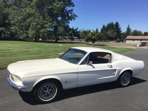 1968 Mustang FastBACK 6-cyls Manual clean solid driver $27.7