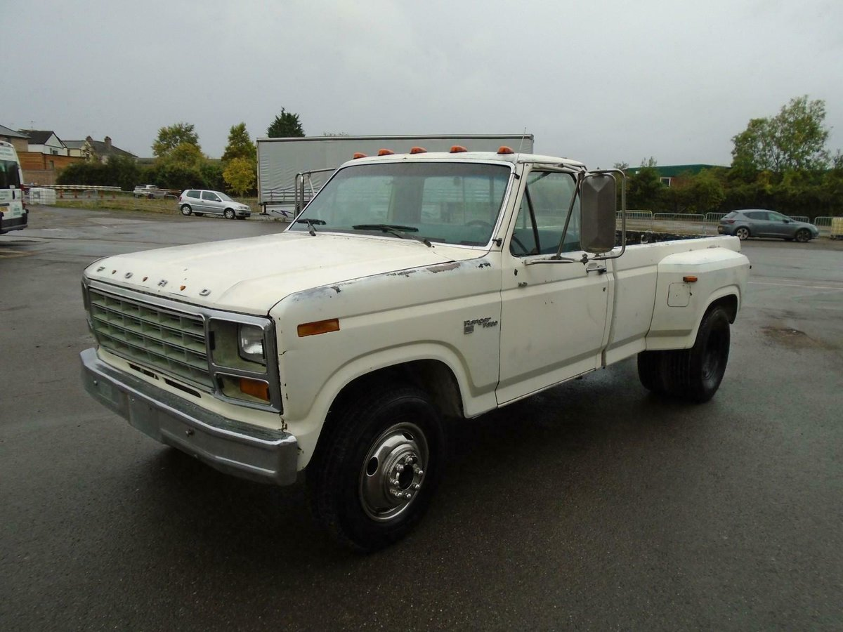 Stupendous 1981 Ford F350 Dually Twin Wheel 6 6 V8 Lhd Pickup Runs Pabps2019 Chair Design Images Pabps2019Com