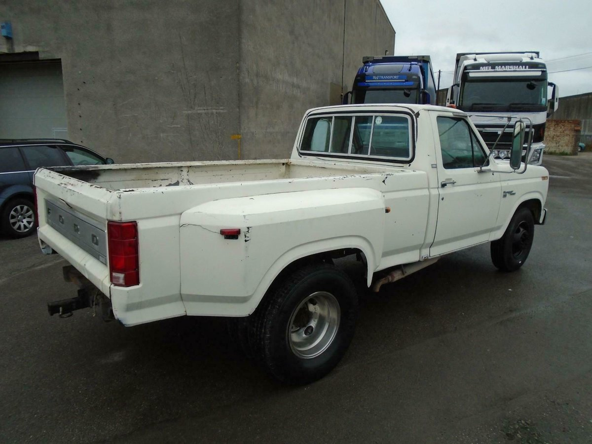 Enjoyable 1981 Ford F350 Dually Twin Wheel 6 6 V8 Lhd Pickup Runs Pabps2019 Chair Design Images Pabps2019Com