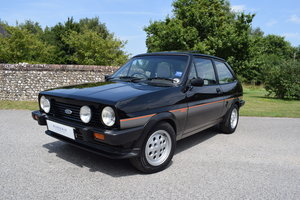 1983 83/A FORD FIESTA XR2 - 58k - UNRESTORED - LARGE HISTORY FILE