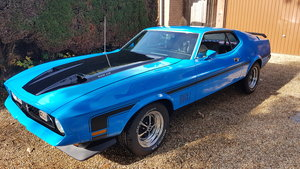 1972 Ford Mustang Mach 1 302ci V8 Fastback For Sale