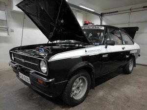 Ford Escort MK2 Historic rally car For Sale