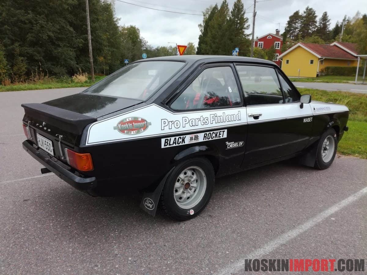 Ford Escort MK2 Historic rally car For Sale (picture 2 of 5)