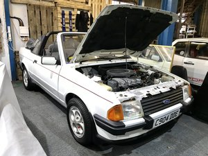 1985 Ford Escort Cabriolet 1.6i Only 67,000miles For Sale