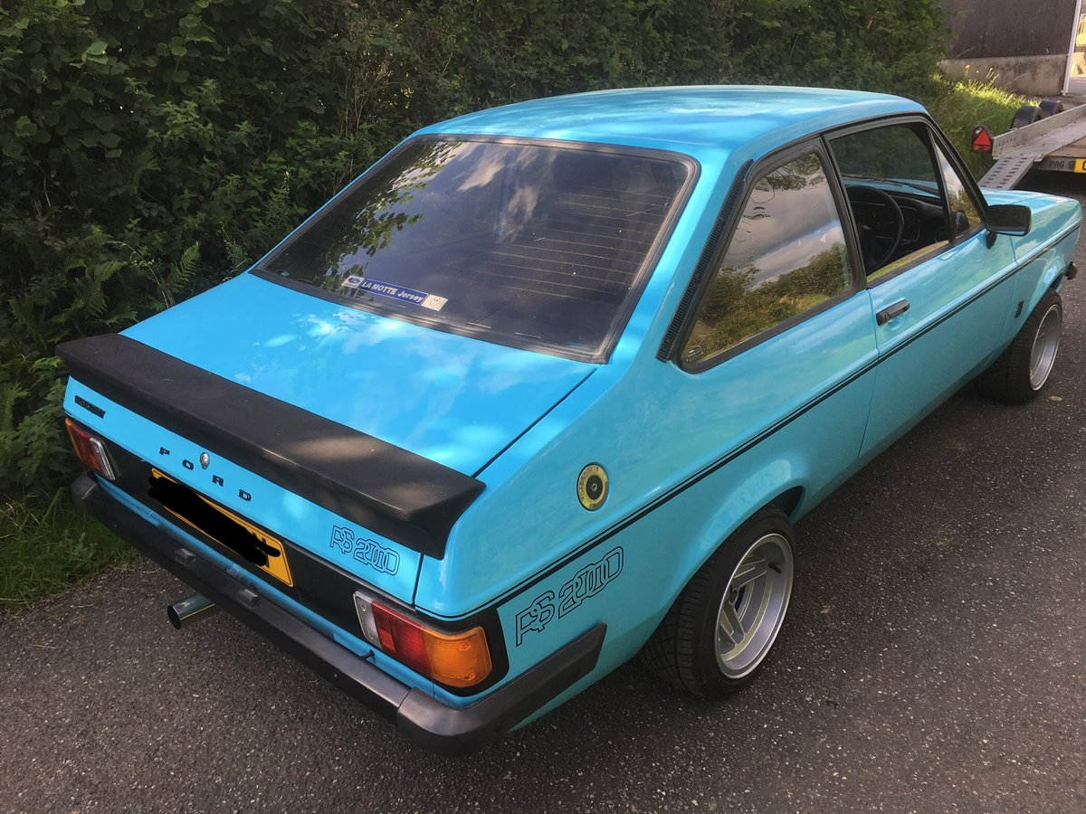 1980 Escort Mk2 RS2000, Zetec, Atlas, Fast Road For Sale (picture 1 of 6)