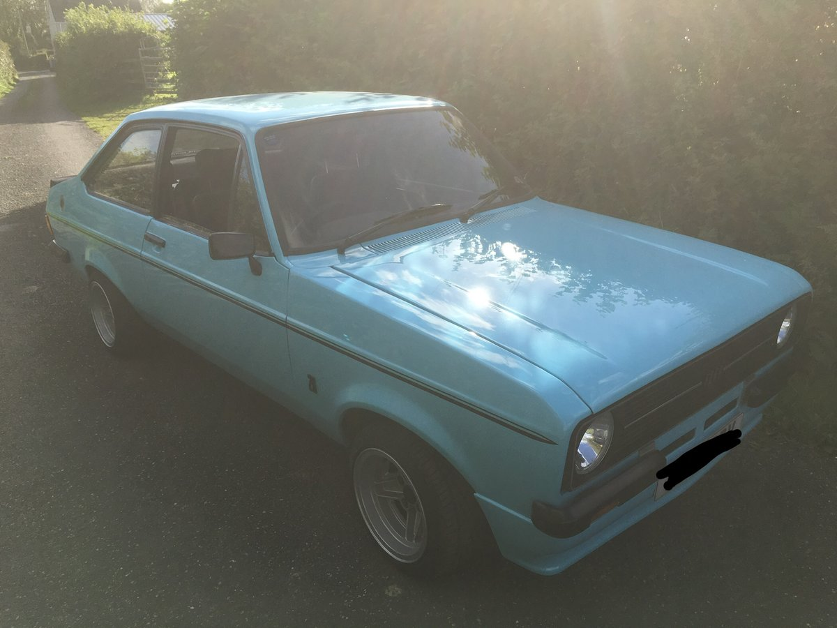 1980 Escort Mk2 RS2000, Zetec, Atlas, Fast Road For Sale (picture 2 of 6)