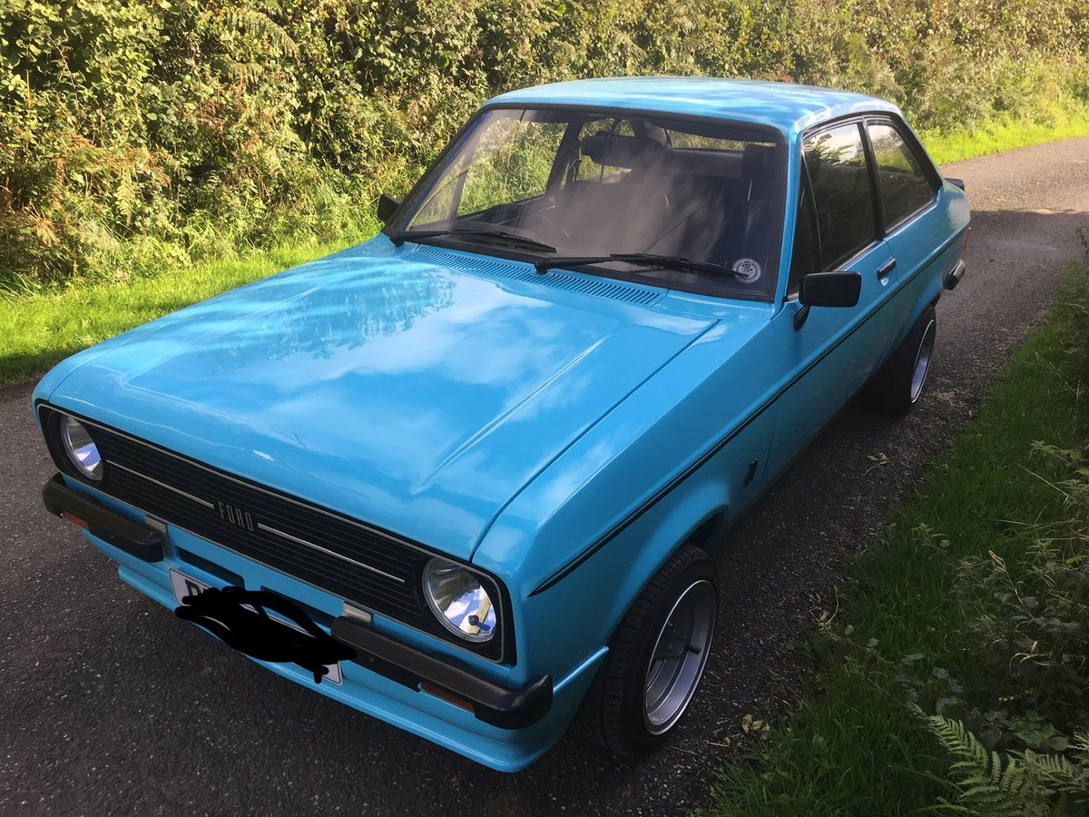 1980 Escort Mk2 RS2000, Zetec, Atlas, Fast Road For Sale (picture 3 of 6)