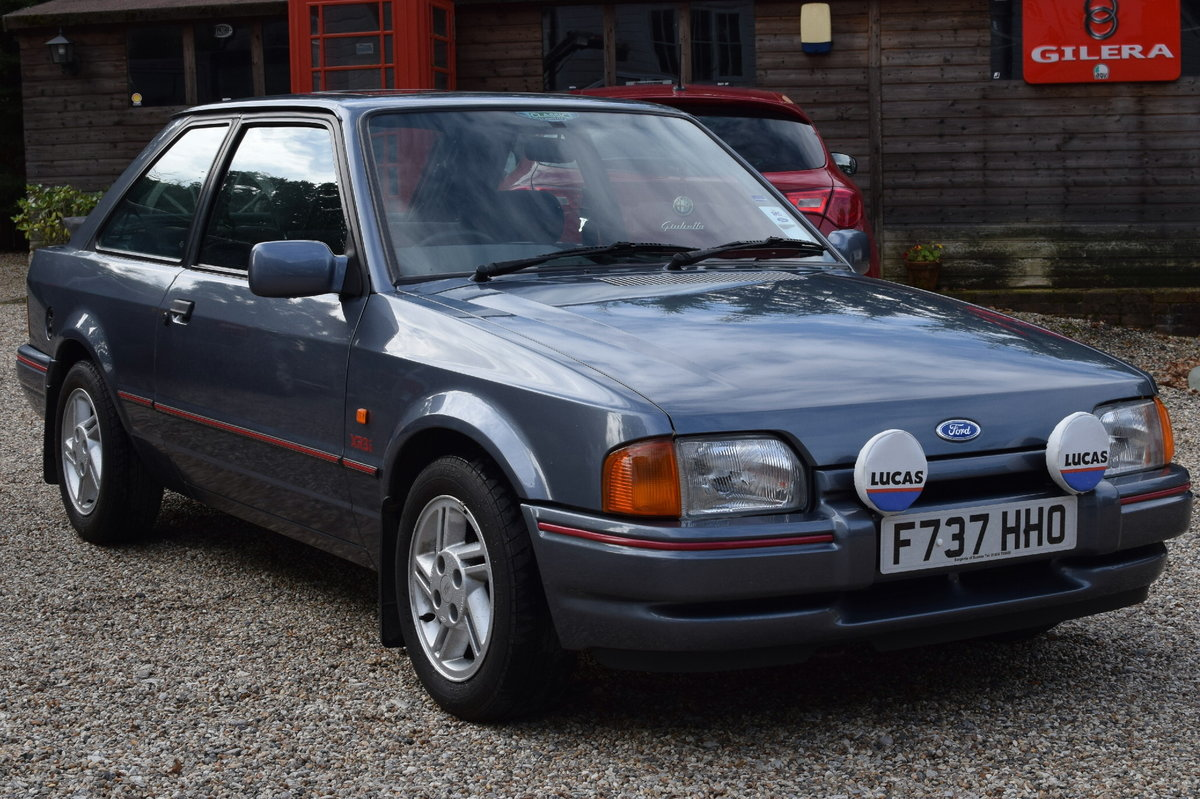 Ford Escort Xr3i Mk 4 Unrestored Original Car 1988 F Reg Sold