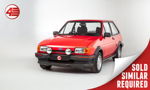 1984 Ford Fiesta XR2 Mk2 /// Very Original /// 92k Miles SOLD