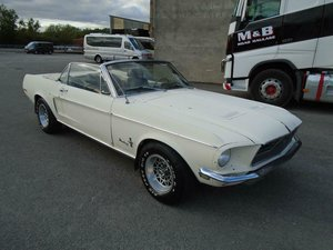 FORD MUSTANG 289 V8 AUTO CONVERTIBLE(1968)EXC RESTO BASE! SOLD