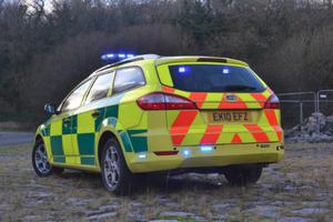 2010 Ford mondeo zetec 2.2 tdci estate ambulance rrv