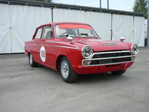 1965 FORD CORTINA 1500 FIA SOLD