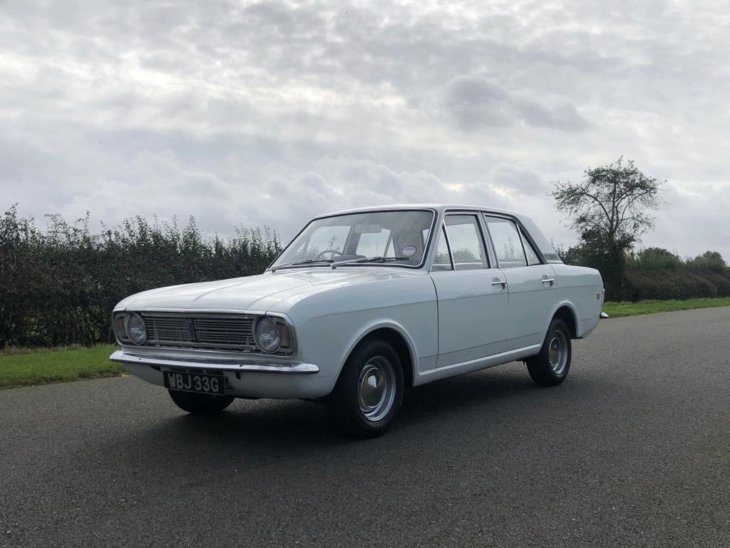 1968 Ford Cortina 1600 GT MK II For Sale (picture 1 of 6)