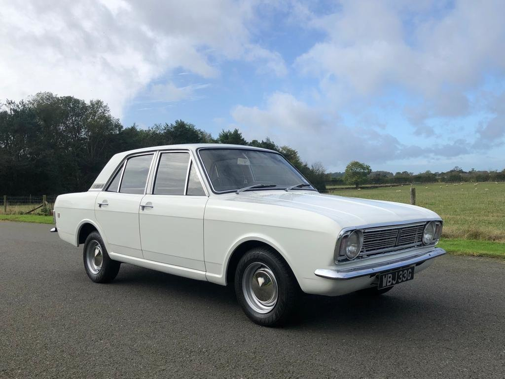 1968 Ford Cortina 1600 GT MK II For Sale (picture 3 of 6)