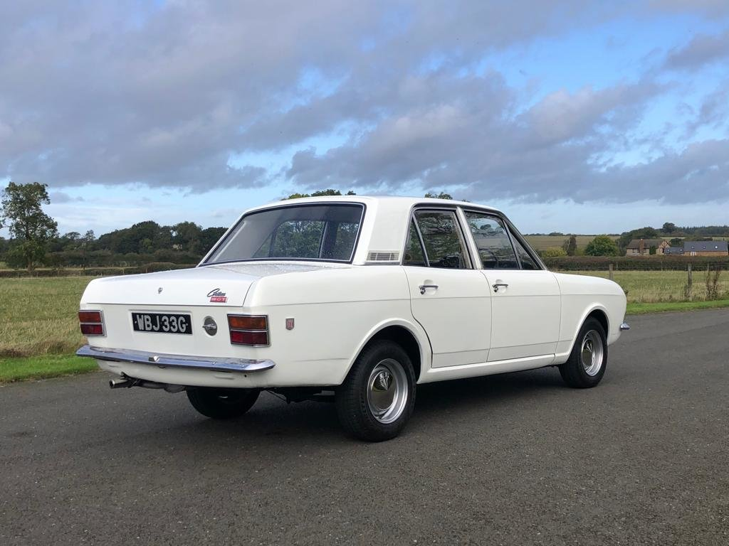 1968 Ford Cortina 1600 GT MK II For Sale (picture 4 of 6)
