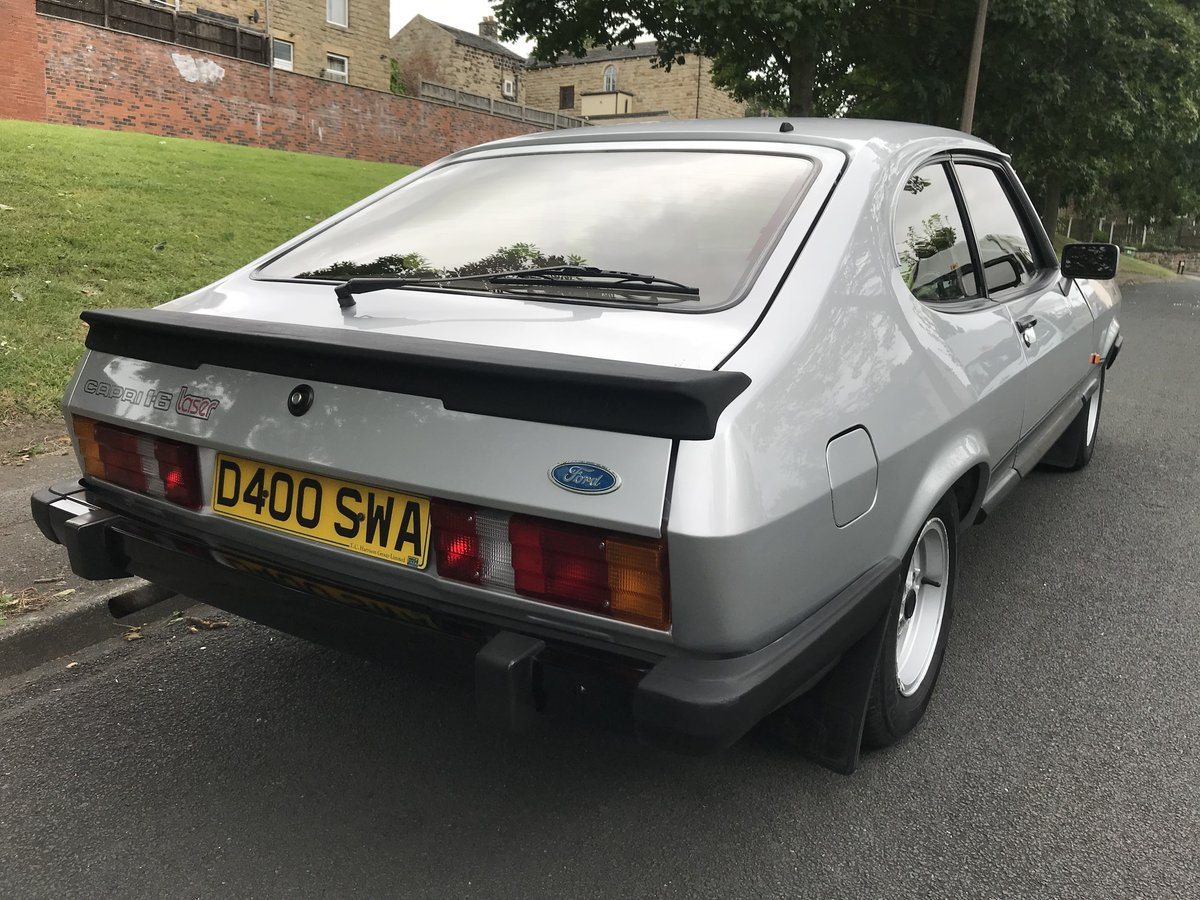 1987 Ford Capri LOWMILEAGE 1 OWNER FORD HISTORY For Sale (picture 2 of 6)
