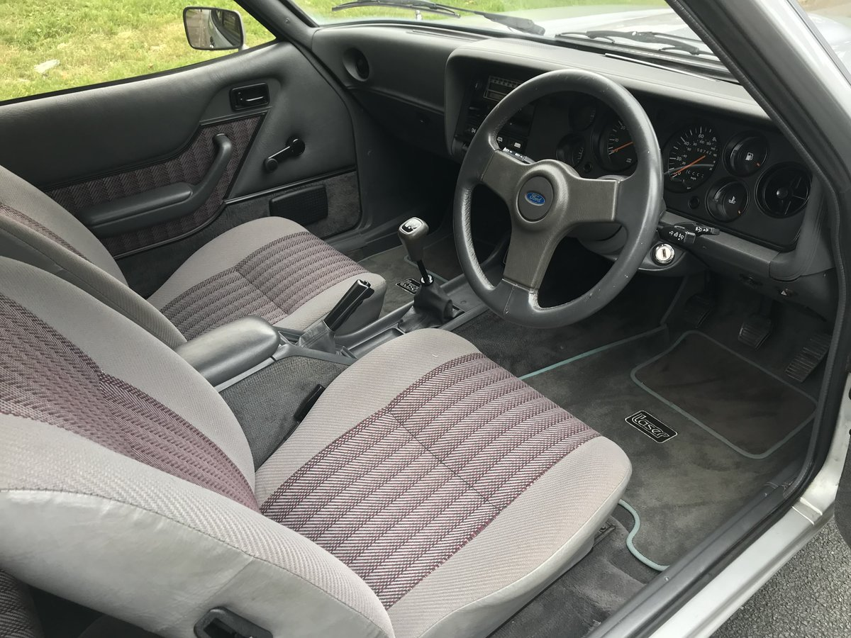 1987 Ford Capri LOWMILEAGE 1 OWNER FORD HISTORY For Sale (picture 5 of 6)