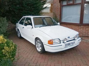 1989 Ford Escort RS Turbo For Sale by Auction