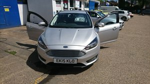 2015 Focus 1.6 tdci diesel zetec low miles £20 road tax For Sale