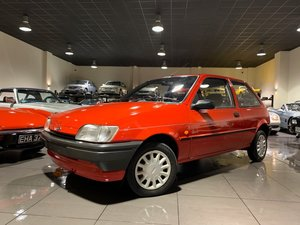 1995 FORD FIESTA 1.1 QUARTZ 3 DOOR RADIANT RED 1 FORMER KEEPER SOLD