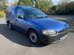 **NOVEMBER AUCTION** 2000 Ford Escort 55 van For Sale by Auction