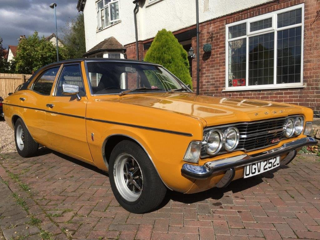 1971 Ford Cortina 2.0 GXL MK3 at ACA 2nd November  For Sale (picture 1 of 6)