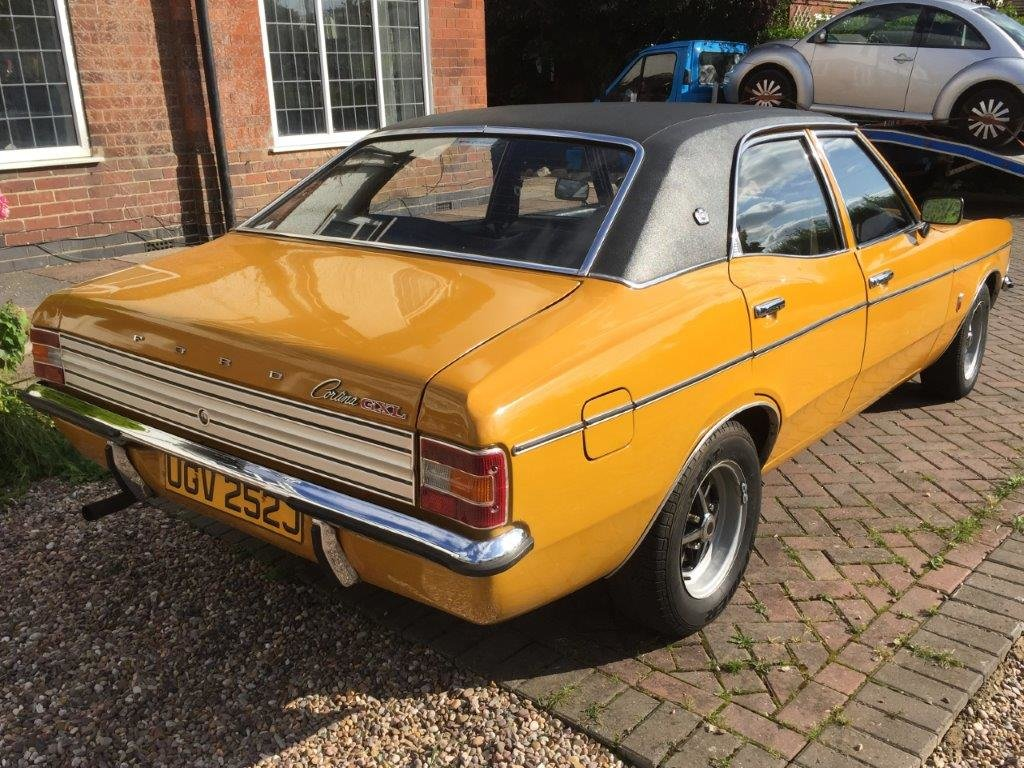 1971 Ford Cortina 2.0 GXL MK3 at ACA 2nd November  For Sale (picture 2 of 6)