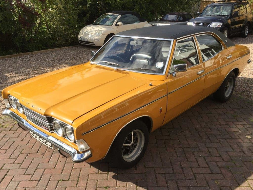 1971 Ford Cortina 2.0 GXL MK3 at ACA 2nd November  For Sale (picture 3 of 6)