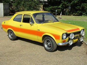 1974 Ford Escort RS2000 MKI at ACA 2nd November