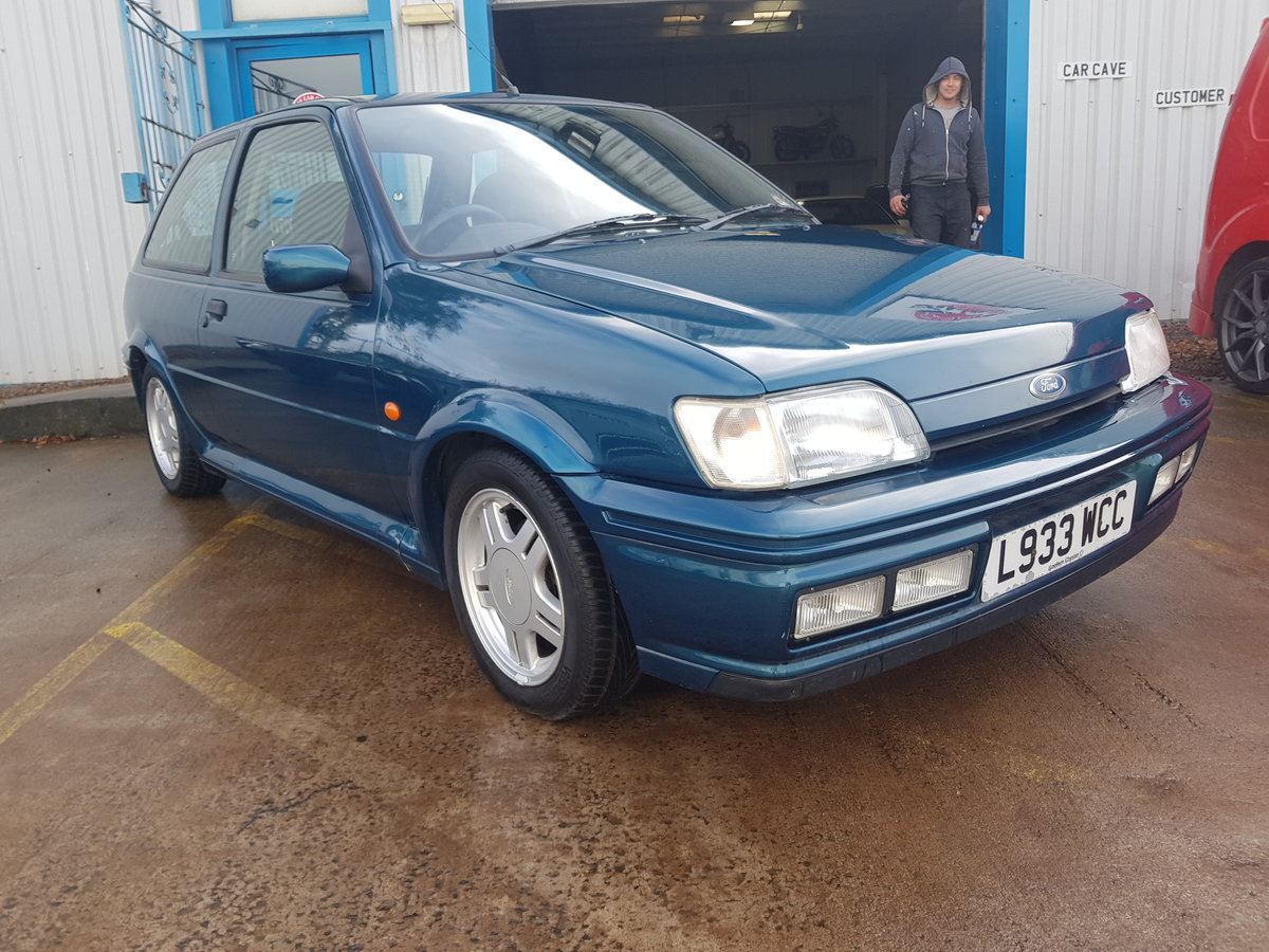 1994 Ford Fiesta Rs1800 - 2 Owners - 54k - FSH - Stored since  05 For Sale (picture 1 of 6)