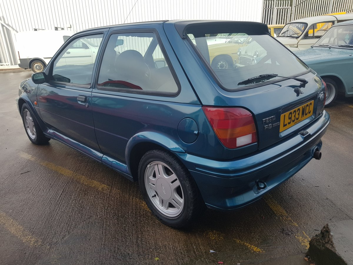 1994 Ford Fiesta Rs1800 - 2 Owners - 54k - FSH - Stored since  05 For Sale (picture 3 of 6)