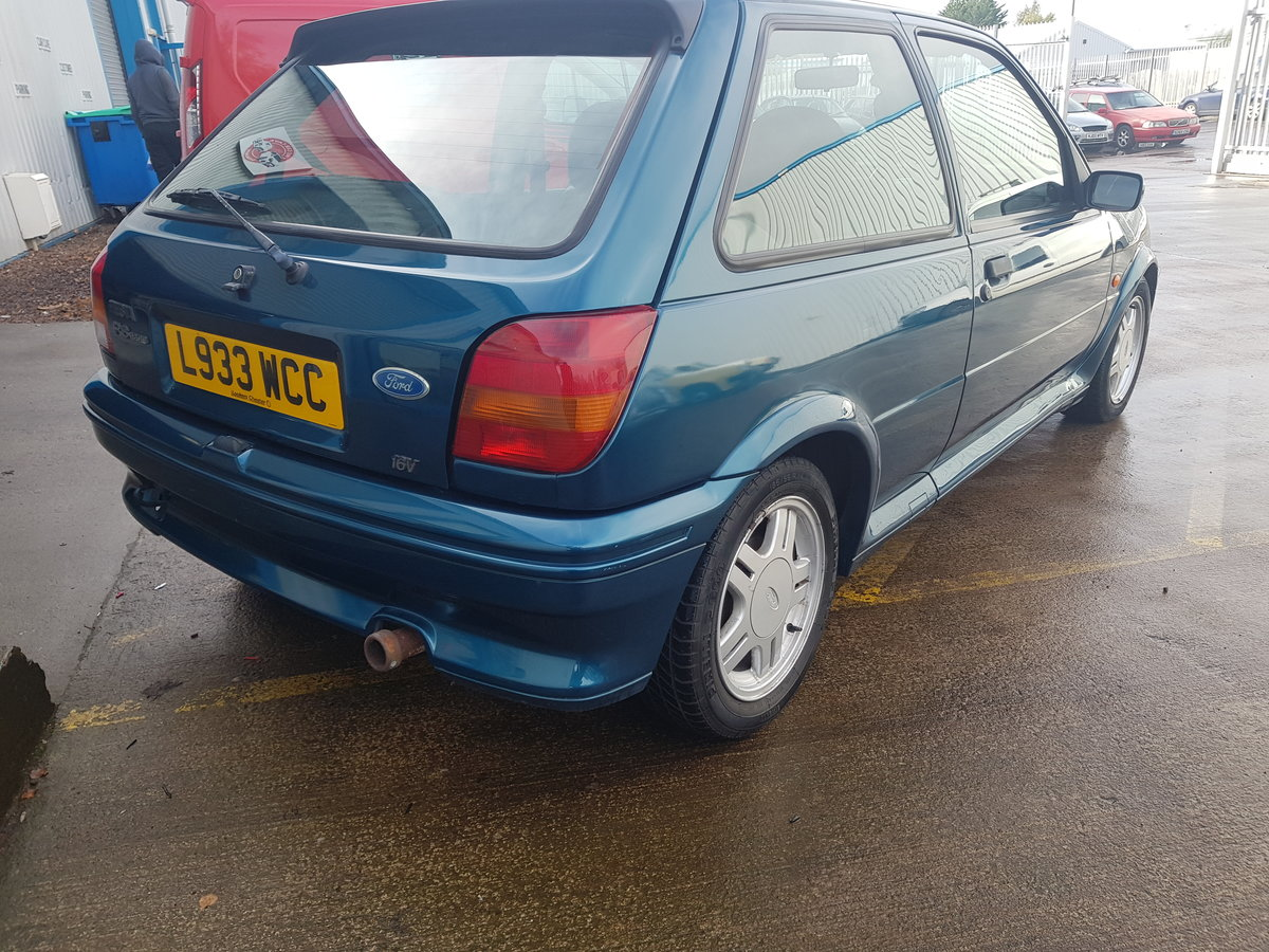 1994 Ford Fiesta Rs1800 - 2 Owners - 54k - FSH - Stored since  05 For Sale (picture 4 of 6)
