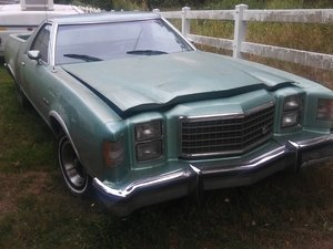 1979 Rare Ranchero GT Brougham (Pickup) V8. All Original. £:3250