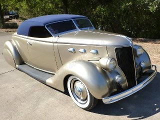 1936 Ford Custom Roadster Many Cool Mods Low Chopped $53.7k