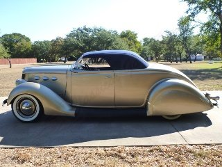 1936 Ford Custom Roadster Many Cool Mods Low Chopped $53.7k For Sale (picture 2 of 6)