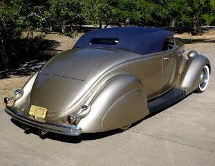 1936 Ford Custom Roadster Many Cool Mods Low Chopped $53.7k For Sale (picture 3 of 6)