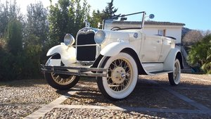 1928 RHD - Ford A Phaeton 4 doors cabriolet For Sale
