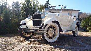 1928 RHD - Ford A Phaeton 4 doors cabriolet