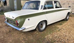 1966 Ford Cortina Mk. I GT 4-door saloon