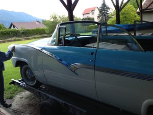 1956 Ford Sunliner convertible For Sale