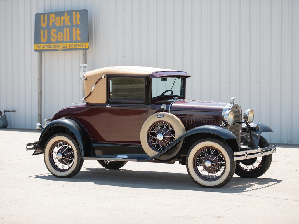 1931 Ford Model A Sport Coupe  For Sale by Auction (picture 1 of 6)
