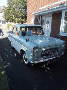 1961 Ford Prefect 107e