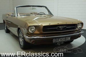 Ford Mustang cabriolet 1965 V8, in very good condition