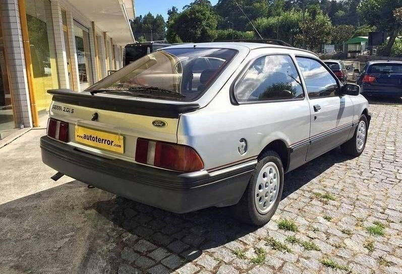 1986 Ford Sierra 2.0iS For Sale (picture 2 of 5)