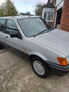 1989 Ford Fiesta, Ghia 1.1, Mark 3 16k miles