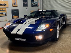 2005 Ford GT Coupe Clean Blue low only 7.1k miles  $279.9k