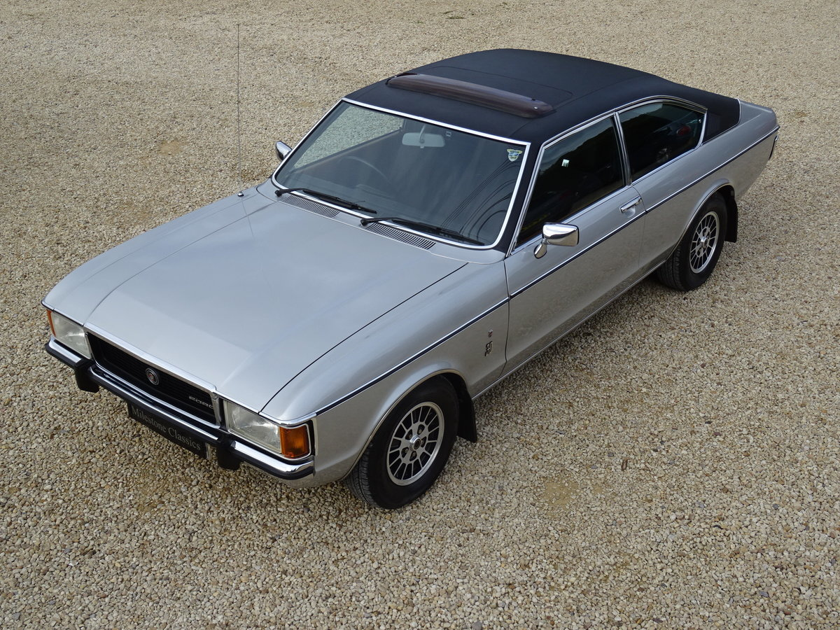 Ford Granada Coupe Mk1 – Concours Winner For Sale (picture 1 of 6)