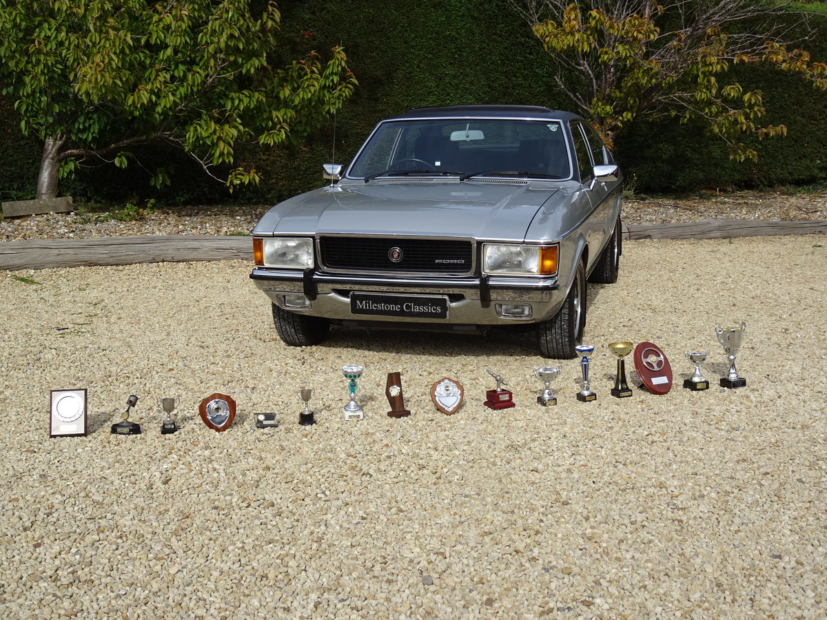 Ford Granada Coupe Mk1 – Concours Winner For Sale (picture 2 of 6)